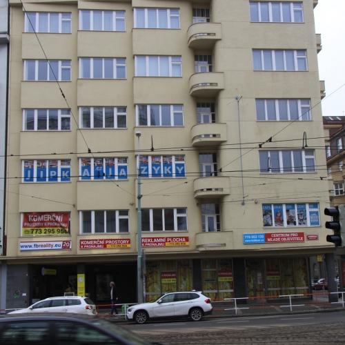 Bytový dům ul.Jičínská st.metro Flora